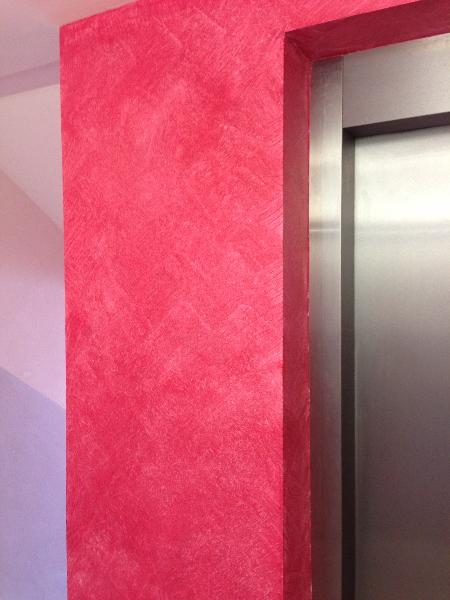 Awesome Einfach Nachgemacht Wandgestaltung Wischtechnik Gallery